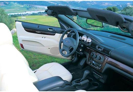 CHRYSLER Sebring Cabrio I kabriolet złoty wnętrze