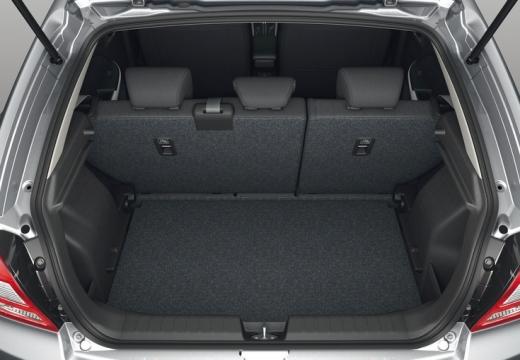 SUZUKI Baleno hatchback silver grey przestrzeń załadunkowa