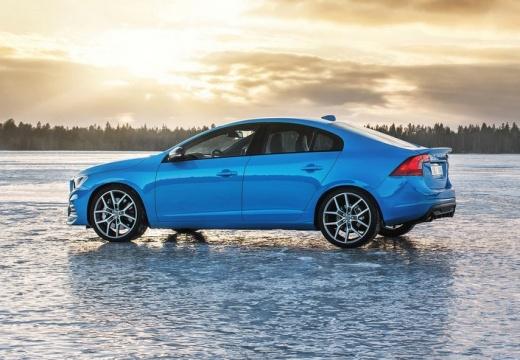 VOLVO S60 V sedan niebieski jasny boczny lewy