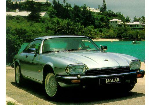 JAGUAR XJS coupe silver grey przedni prawy