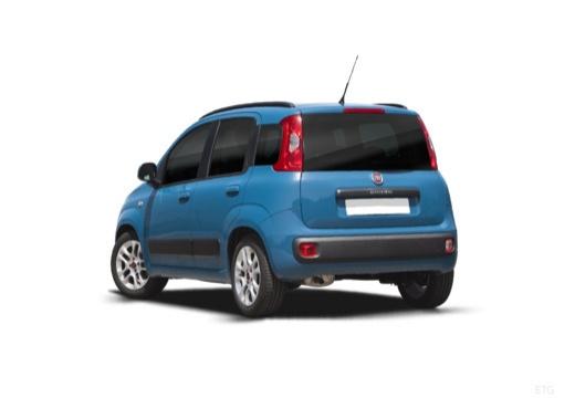 FIAT Panda III hatchback niebieski jasny tylny lewy