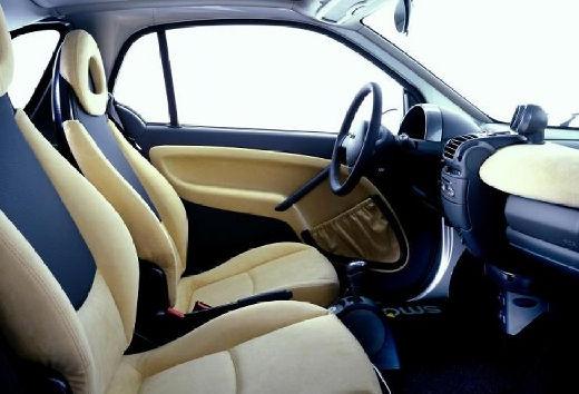 SMART smart coupe wnętrze