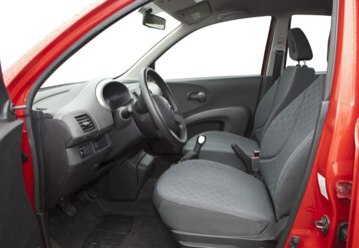 NISSAN Micra V hatchback wnętrze