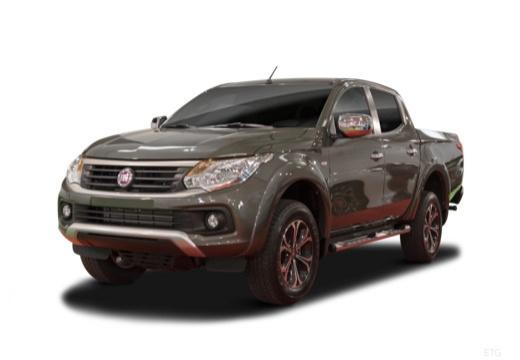 FIAT Fullback pickup szary ciemny przedni lewy