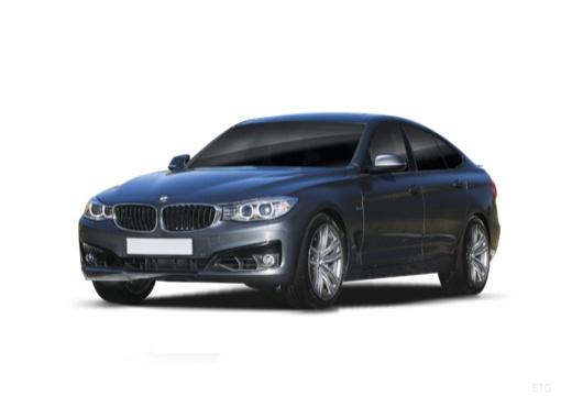 BMW Seria 3 Gran Turismo hatchback szary ciemny przedni lewy