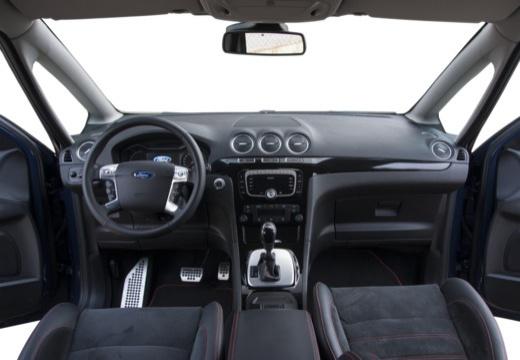 FORD S-MAX II van niebieski jasny tablica rozdzielcza