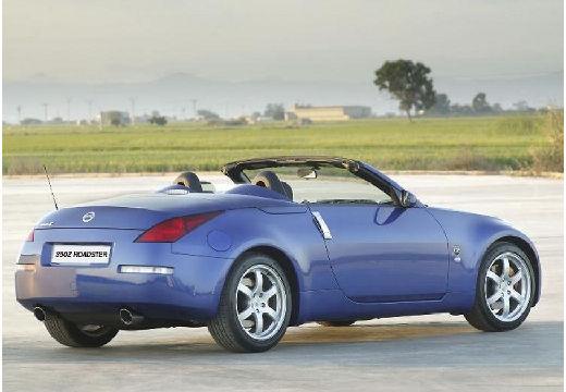 NISSAN 350 Z roadster niebieski jasny tylny prawy