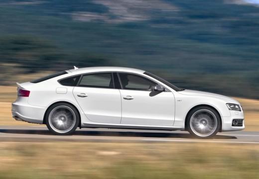 AUDI A5 Sportback I hatchback biały boczny prawy