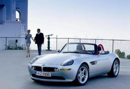 BMW Z8 roadster silver grey przedni lewy