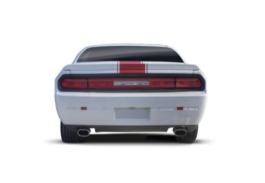 DODGE Challenger I coupe biały tylny