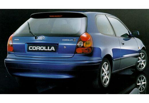 Toyota Corolla IV hatchback niebieski jasny tylny prawy