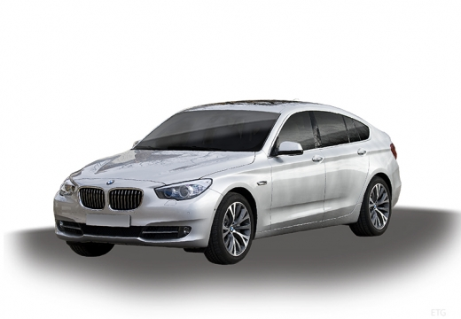 BMW Seria 5 Gran Turismo hatchback silver grey