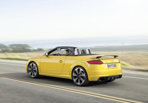 AUDI TT III roadster żółty tylny lewy