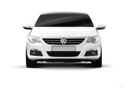 VOLKSWAGEN Passat CC sedan biały przedni