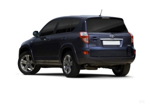 Toyota RAV4 V kombi niebieski jasny tylny lewy