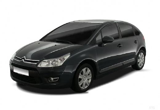 CITROEN C4 II hatchback szary ciemny