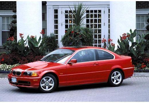 BMW Seria 3 E46 coupe czerwony jasny przedni lewy