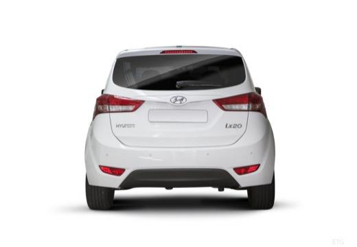 HYUNDAI ix20 II hatchback biały tylny