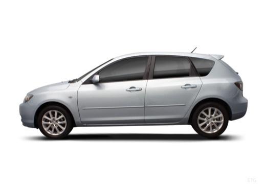 MAZDA 3 II hatchback boczny lewy