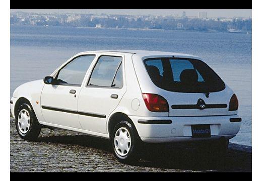 MAZDA 121 hatchback biały tylny lewy