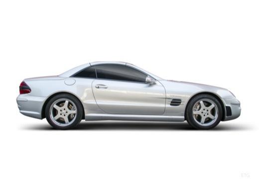 MERCEDES-BENZ Klasa SL SL 230 II roadster boczny prawy