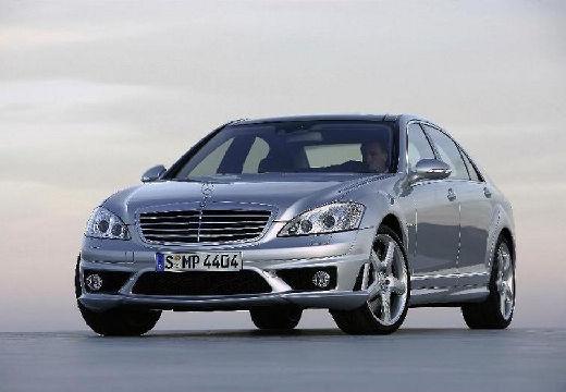 MERCEDES-BENZ Klasa S W 221 I sedan silver grey przedni lewy