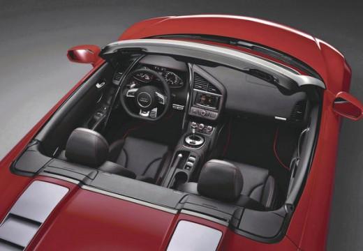 AUDI R8 roadster wnętrze
