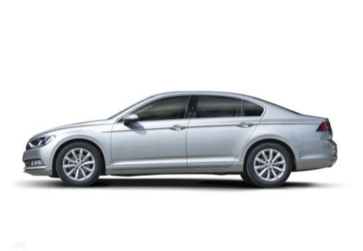 VOLKSWAGEN Passat sedan silver grey boczny lewy