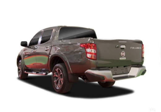 FIAT Fullback pickup szary ciemny tylny lewy