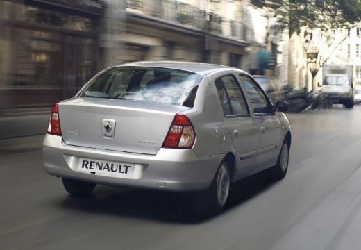 RENAULT Thalia sedan silver grey tylny prawy