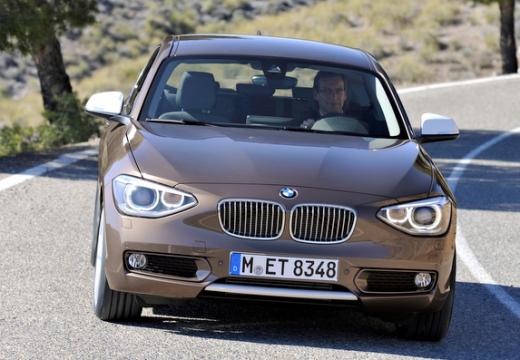 BMW Seria 1 F21 I hatchback brązowy przedni