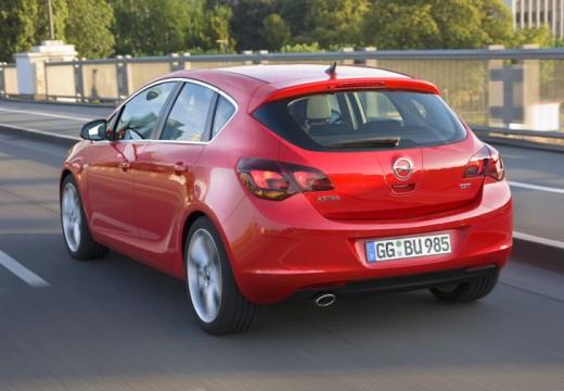 OPEL Astra IV I hatchback czerwony jasny tylny lewy
