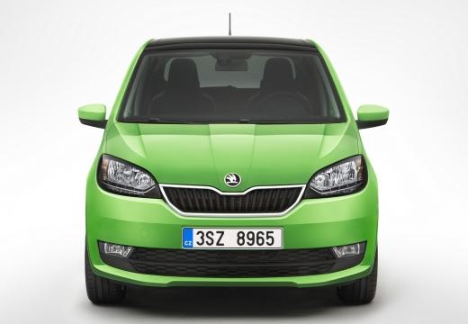 SKODA Citigo hatchback zielony przedni