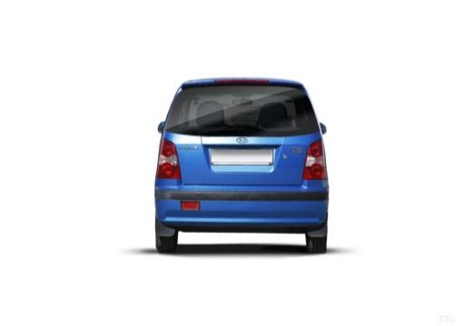HYUNDAI Atos hatchback niebieski jasny tylny