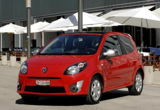 RENAULT Twingo hatchback czerwony jasny przedni lewy