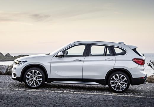 BMW X1 X 1 F48 I kombi biały boczny lewy