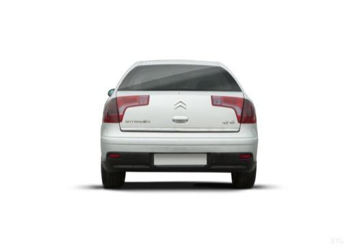 CITROEN C5 II hatchback silver grey tylny