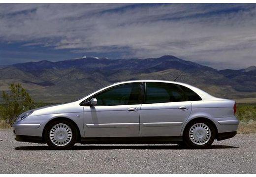 CITROEN C5 I hatchback silver grey boczny lewy
