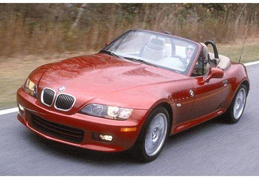 BMW Z3 roadster bordeaux (czerwony ciemny) przedni lewy