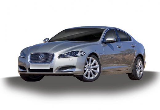 JAGUAR XF II sedan silver grey