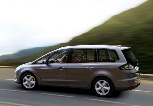 FORD Galaxy V van silver grey boczny lewy