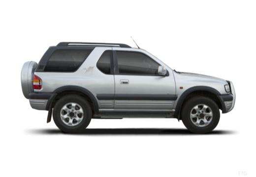 OPEL Frontera Kombi III hardtop silver grey boczny prawy