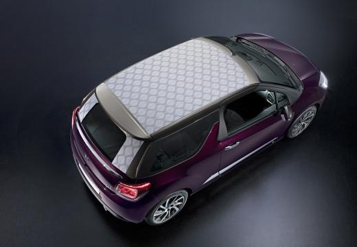 CITROEN DS3 II hatchback fioletowy górny tylny