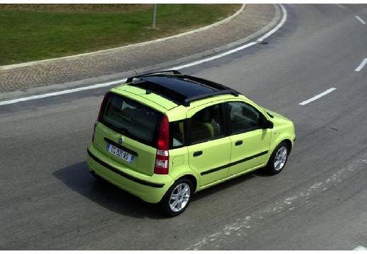 FIAT Panda II hatchback zielony tylny prawy