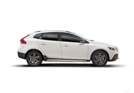 VOLVO V40 Cross Country I hatchback biały boczny prawy