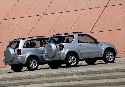 Toyota RAV4 III kombi silver grey tylny prawy