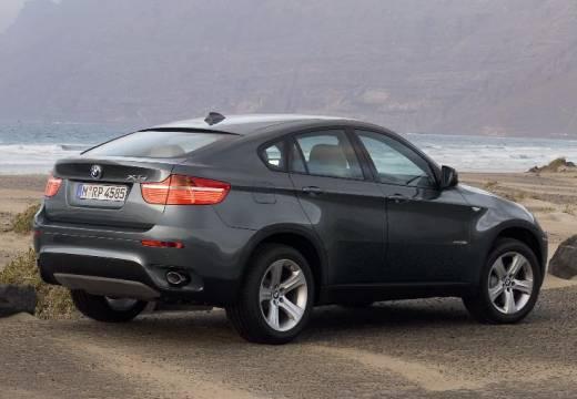 BMW X6 X 6 E71 hatchback szary ciemny tylny prawy