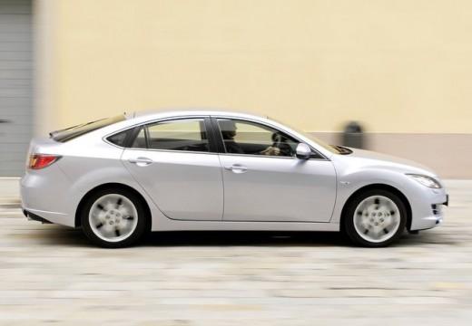 MAZDA 6 III hatchback silver grey boczny prawy