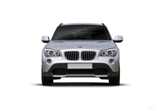BMW X1 X 1 E84 I kombi silver grey przedni