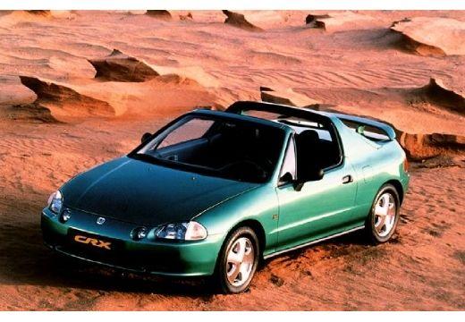 HONDA CRX Targa II coupe zielony przedni lewy